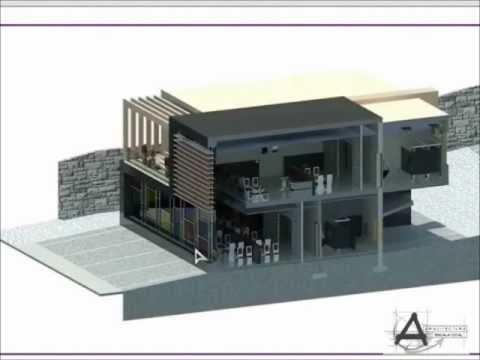 Revit tutorial como hacer un corte 3d youtube for Hacer tu casa en 3d