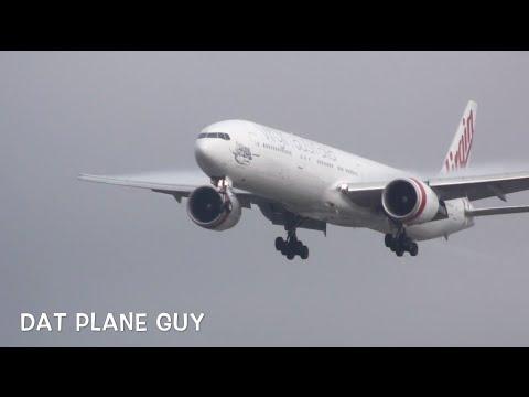 Virgin Australia 777-3ZG(ER) [VH-VPF] Landing at Sydney Airport
