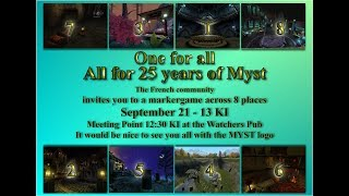 One for All - All for 25 years of Myst