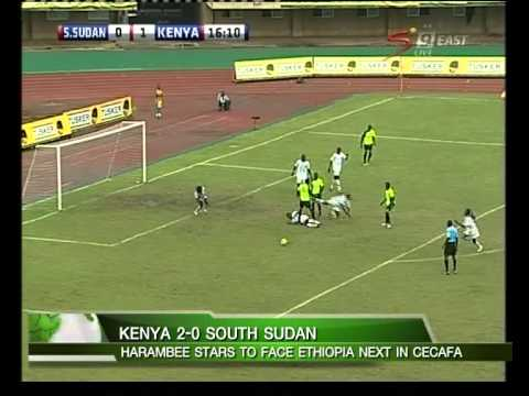 KENYA BEATS SOUTH SUDAN