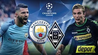 Manchester City vs Borussia Monchengladbach 4 0 All Goals and Highlights Champions League HD