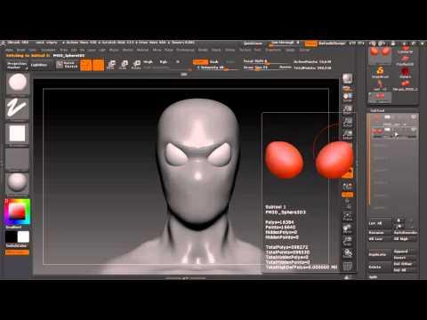 Часть 4 Скульптинг и Анатомия в ZBrush 4 смотреть на Ютуб видео бесплатно