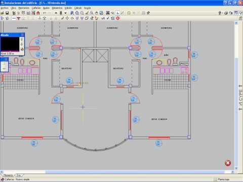 Parte 1 instalaciones del edificio agua fria y caliente for Plano de cocina fria