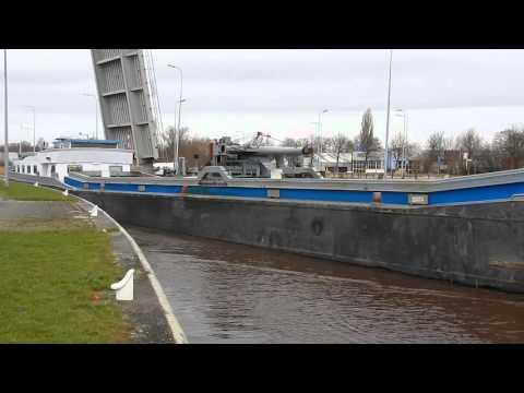 Barge Ship EVELINE Spotted