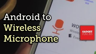 Use Your Android as a Wireless Microphone for Your Computer [How-To]
