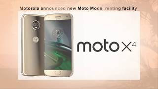 Motorola announced new Moto Mods renting facility