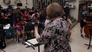 Enloe Magnet High School Orchestra Performs Sibelius' Symphony No. 2