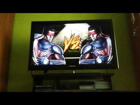 Mortal Kombat 9 rozcvička