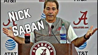 Nick Saban Press Conference from 9/6
