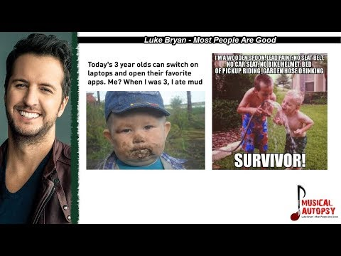 Musical Autopsy: Luke Bryan - Most People Are Good MP3