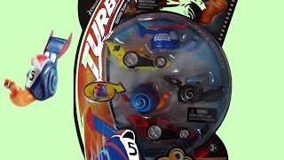 TURBO The Movie Racing Team - Shell Racers 5 New Cars Toys DreamWorks Vehicles Turbo le Film