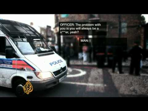 Charges of racism against UK police
