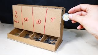 How To Make Coin Sorting Machine - DIY Cardboard Toys
