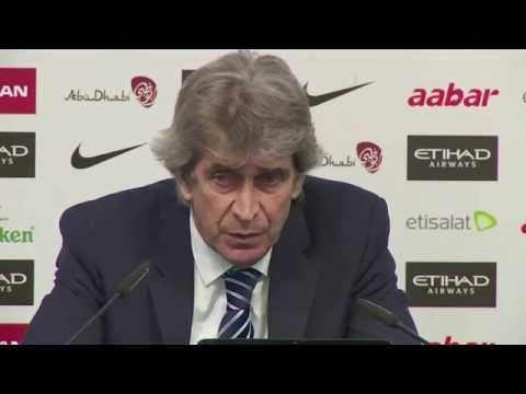 Manuel Pellegrini on Manchester City's 2-0 FA Cup defeat to Middlesbrough