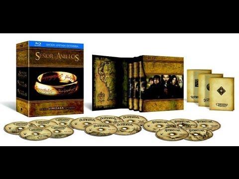 Trilogía El Señor de los Anillos Blu-ray - Unboxing