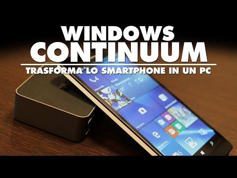 Microsoft | Windows Continuum in 45 secondi