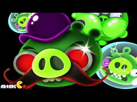 Angry Birds Space: Brass Hogs Level 9-M2 Mirror World Walkthrough 3 Star