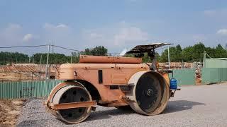 Máy Xúc Đất Và Xe Lu Làm Việc | KCN Nhơn Trạch, Đồng Nai | Excavator #11