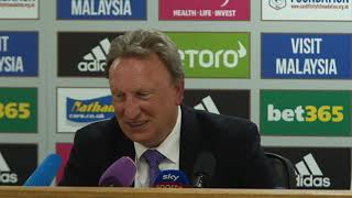 Neil Warnock on Cardiff v Liverpool: Full press conference.