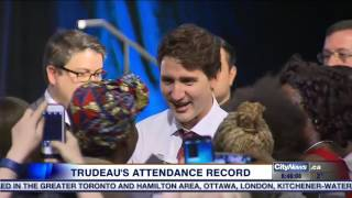 Video: Trudeau under fire over question period attendance record