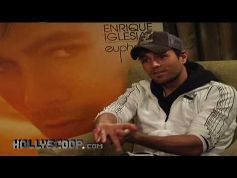 Enrique Iglesias  - 'Euphoria' - Candid Interview on New Album, Marriage and Kids