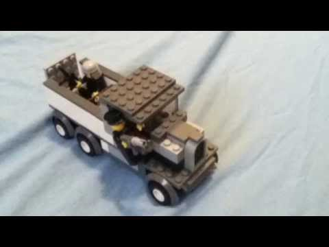 How to make a Lego ww2 German truck