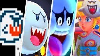 Evolution of Boo in Super Mario Games (1988 - 2017)
