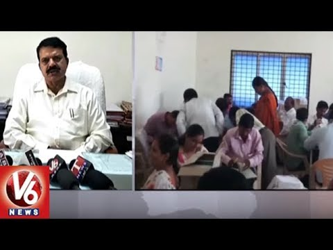 Medchal Collector NV Reddy: All Set For Rythu Bandhu Cheques & Passbooks Distribution | V6 News