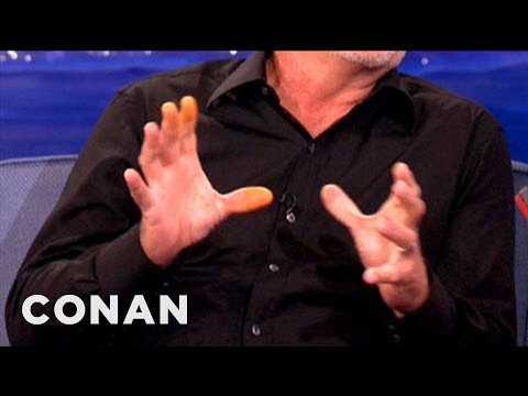 Kelsey Grammer's Orange Fingers Explained! - CONAN on TBS