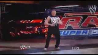 Brock Lesnar Returns To WWE (2012) + F5