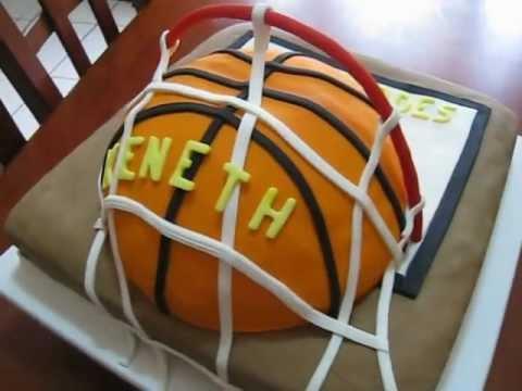 Pastel de Basquetbol - YouTube