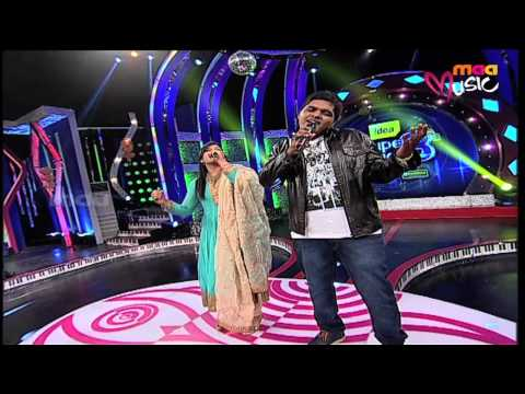 Super Singer 8 Episode 30 - Sameera and Anurag Performance