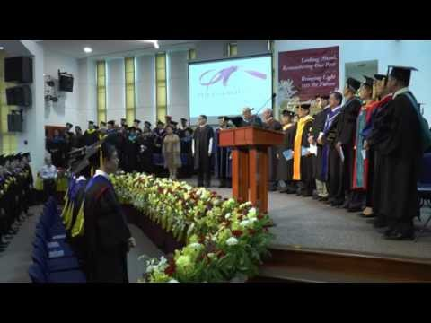 Asia-Pacific International University Graduation 2016 - Commencement Service