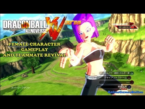 Dragon Ball Xenoverse Created Characters Dragon Ball Xenoverse Female