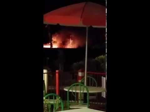 Explosion in Bakersfield (Rosedale Hwy & Coffee Road) 2