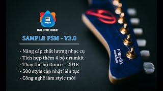 Demo Sample PSM - V3.0 | Phần 1: Voice và Style dân ca