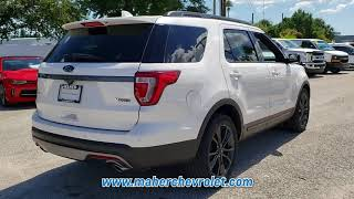 USED 2017 FORD EXPLORER XLT at Maher Chevrolet #81798B