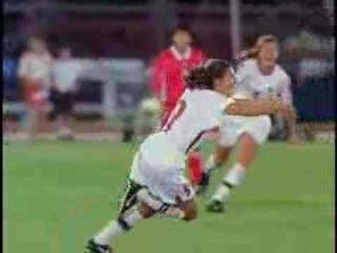 Mia Hamm and Julie Foudy Highlight Video1 Video