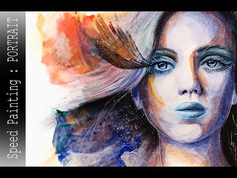 Speed Painting : Portrait