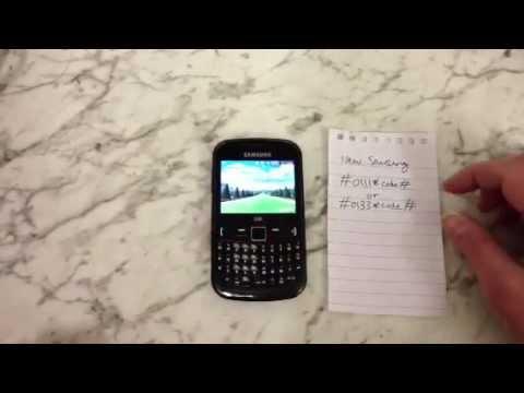 Quitar Clave De Seguridad De Un Samsung GT-S3350 ESPANOL! Versin Larga