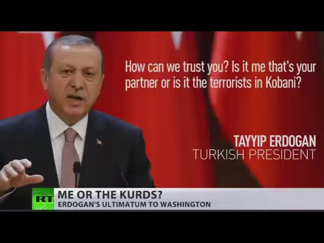 'How can we trust you?' Erdogan urges US to choose between him or Kurds