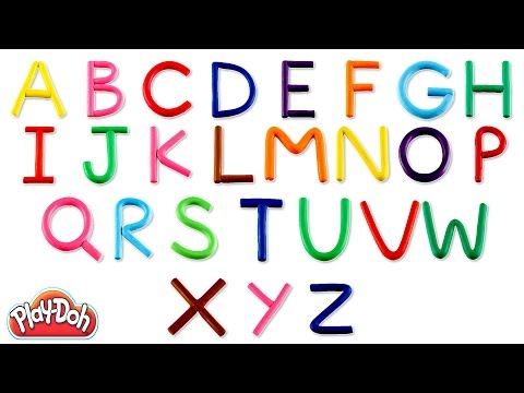 Play Doh ABC | Learn Alphabets | Play Doh Abc Song | Kids Learning ABC | Play Doh Stop Motion