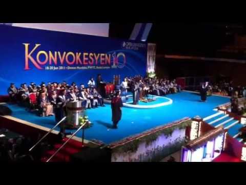 Konvokesyen ke 10 - Open University Malaysia (OUM) - Anas Alam Faizli MPM