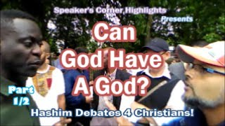 Video: Can God have a Higher God? - Hashim vs African Christian