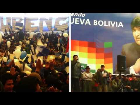 Campaña MAS Oruro Elecciones 2014 BOLIVIA
