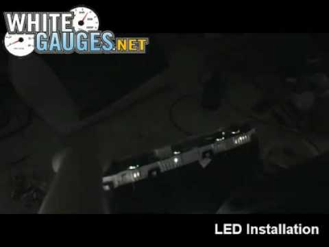Installing LED Bulbs In Your Instrument Gauge Cluster