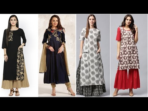 Designer Printed Long Dressess Designs
