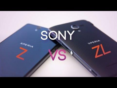 Sony Xperia Z vs Xperia ZL