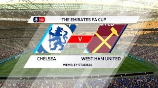 FIFA 17 | Chelsea vs West Ham United  -  Full Gameplay (PS4/Xbox One)
