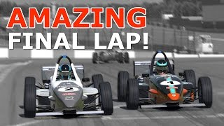 iRacing | Amazing final lap